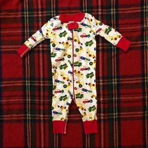Hanna Andersson truck pjs size 60